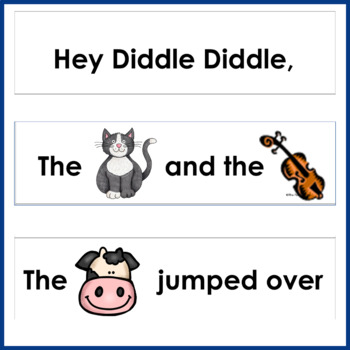 Sequencing ~ Hey Diddle Diddle~
