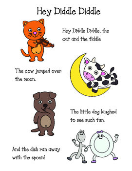 Hey Diddle Diddle Poem