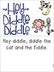 Hey Diddle Diddle Pre-K and Kindergarten Activities