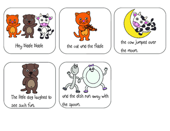Hey Diddle Diddle Sequencing Activity