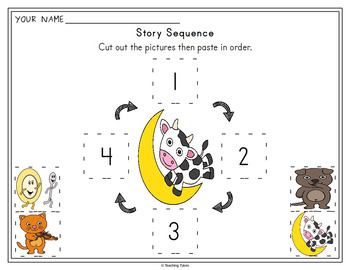 Hey Diddle Diddle Worksheets Activities Games Printables and More