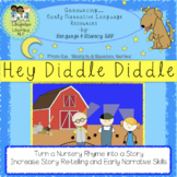 Hey Diddle Diddle: Turn a Rhyme Into a Story to Build Earl