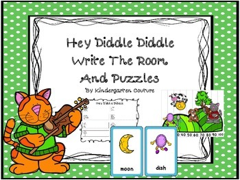 Hey Diddle, Diddle Write the Room and Puzzles