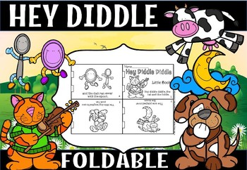Hey Diddle Diddle foldable.(free)