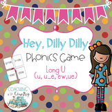 Hey, Dilly Dilly Phonics Game Long u