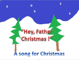 Hey Father Christmas. Song with ocarina /chime bar parts f
