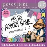 Hey Ho Nobody Home Rhythm Practice Activities