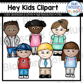 Hey Kids Clipart