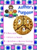 Hey Kids!  What's the Author's Purpose?