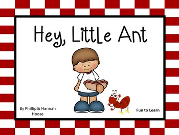 Hey,  Little Ant    45 pgs of Common Core Activities.