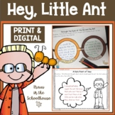 Hey Little Ant Activities | Easel Activity Distance Learning