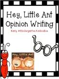 Hey, Little Ant Opinion Writing Craftivity