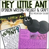 Hey Little Ant Opinion Writing Prompt and Activity