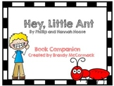 Hey, Little Ant Book Companion