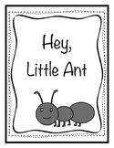Hey, Little Ant writing