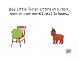 """""""Hey Little Clover"""" - A Following Directions Book WITH Manipulatives"""