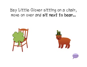 """Hey Little Clover"" - A Following Directions Book WITH Manipulatives"