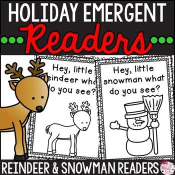 Hey, Little Reindeer! A Winter Holiday Reader