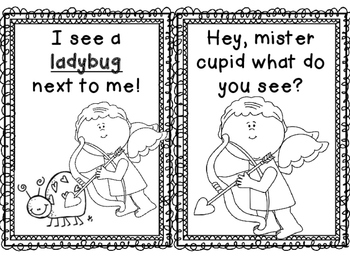 Hey, Mister Cupid :: A Valentines Day Emergent Reader