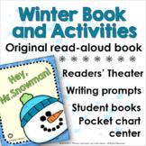 Winter Snowman Book and Literacy Center Activities