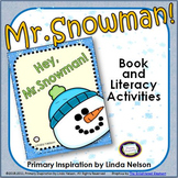 Winter Snowman Book and Literacy Center Activities