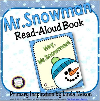 Winter Snowman Read-Aloud Book