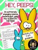 Hey, Peeps! Dissolving Peeps Experiment using the Scientific Method!