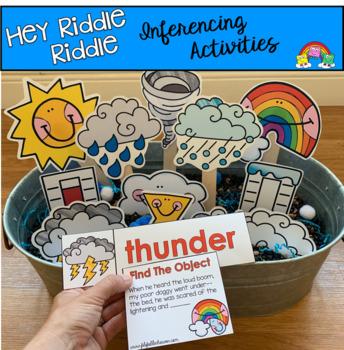 Hey Riddle Riddle Sensory Bin Activities Bundle