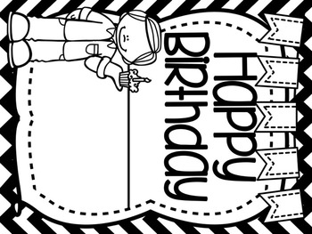 Happy Birthday to You Birthday Board Display & Activities