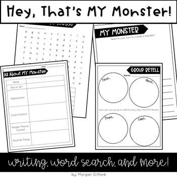 Hey, That's MY Monster Activities
