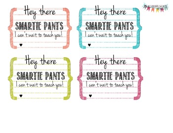 Hey There Smartie Pants