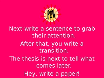 Hey Write a Paper!  (How to Write a 5 Paragraph Essay Song) Full Demo