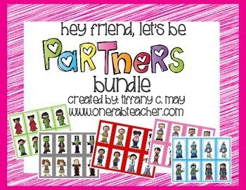 Hey friend, let's be partners! (bundle)
