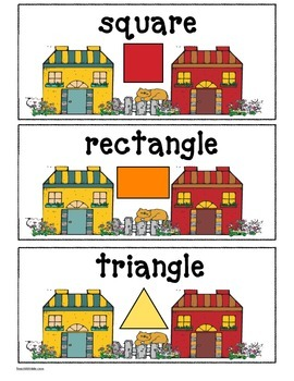 """Free Letter Craft: """"Hh Is For House!"""" Letter, 2D Shapes & Address Craftivity"""