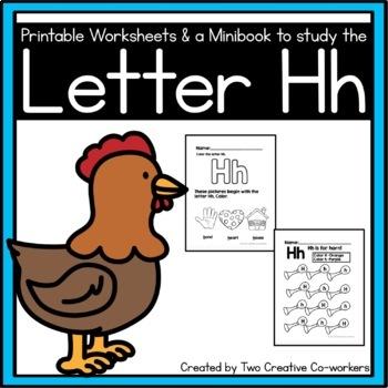 Letter H { Alphabet Practice }