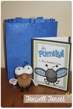 Hi Family! {A Literature Take-Home Bag with Mr. Fly}