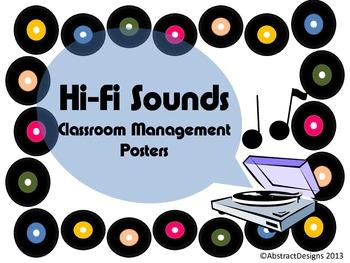Hi-Fi Sounds Management Posters