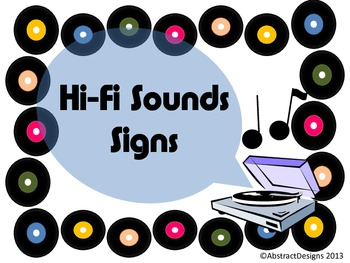 Hi-Fi Sounds Signs