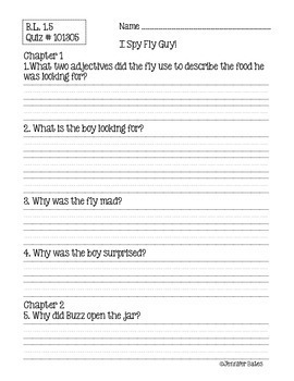 Hi! Fly Guy Book Club Packet