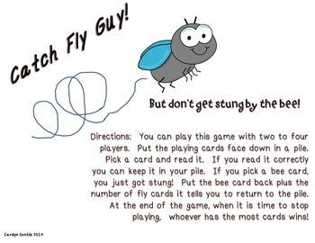 Hi! Fly Guy Journeys Unit 6 Lesson 29 2014  1sr gr.version Supplement Activities