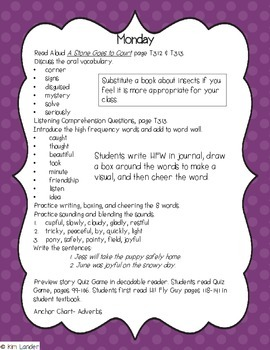 Hi! Fly Guy Journeys First Grade Lesson Plans and Supplemental Materials