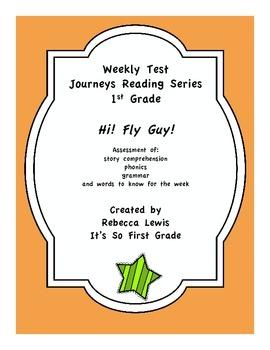 Hi! Fly Guy Journeys Reading Assessment