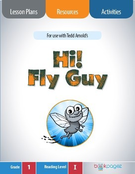 Hi! Fly Guy Lesson Plans & Activities Package, First Grade (CCSS)