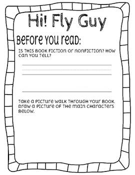 Hi! Fly Guy Novel Study