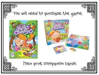 Into Reading Houghton Mifflin- Hi Ho CherryO (HFW game)