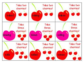 Hi Ho Cherry-O - Inflectional Endings