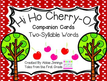 Hi Ho Cherry-O - Syllables