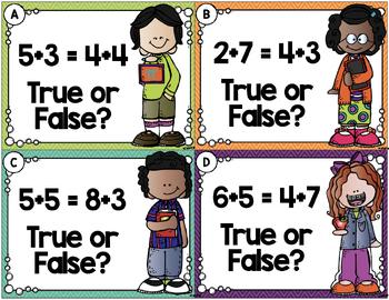 Hi Ho! Hi Ho! It's Back to School We Go! August Math Centers 2nd Grade