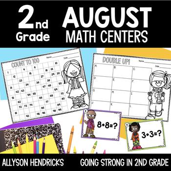 Hi Ho! Hi Ho! It's Back to School We Go! August Math Cente