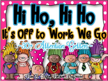 Hi Ho, Hi Ho.  It's Off to Work We Go!  30+ Attention Grabber Posters